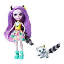 Лялька Энчантималс Лариса Лемури і Ринглет Enchantimals Larissa Lemur & Ringlet.