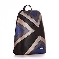 Рюкзак для девушек черный с узором под А4 Alba Soboni арт. 130921