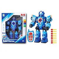 Робот игрушка на радиоуправлении KD-8811 Интерактивный световые и звуковые эффекты, танцует ходит Blue (KD-8811B-RT)