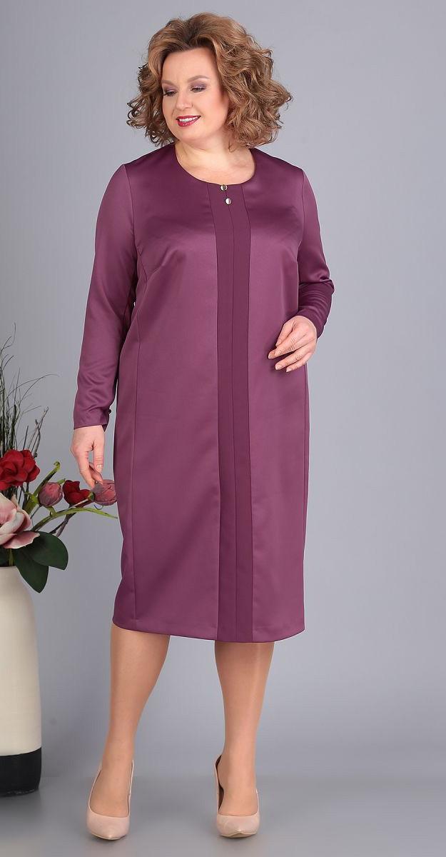 Сукня Novella Sharm-3385-3 білоруський трикотаж, бузок, 64