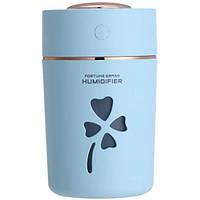 Увлажнитель воздуха ультразвуковой HUMIDIFIER CLOVER Pro Ночник ароматизатор с подсветкой и USB Light-Blue (1125B-FL)