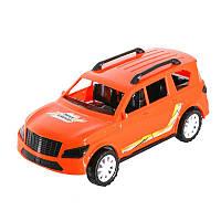 Машинка Grand Max с наклейкой Детская игрушка джип 30 см Orange (МГ187-TB)