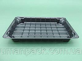 Упаковка пластикова під суші SL331ВL (184*129*22) (50 шт))