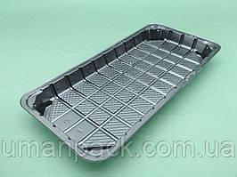 Упаковка пластикова під суші SL333ВL 243*110*17 (50 шт)