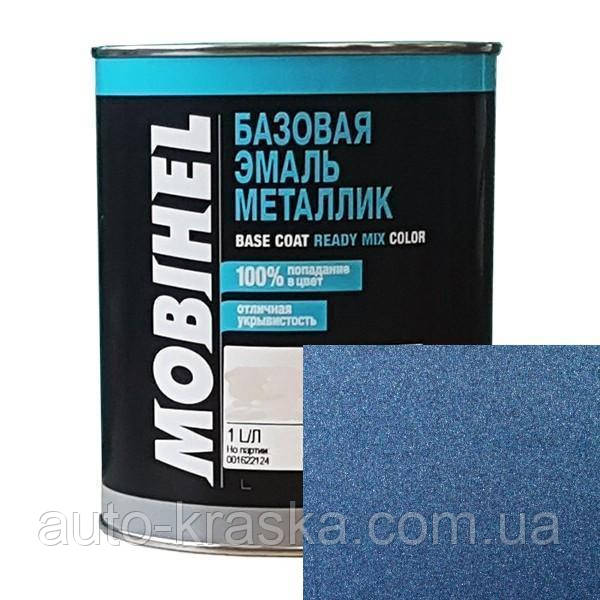 Автокраска Mobihel металлик 446 сапфир.  0.1л