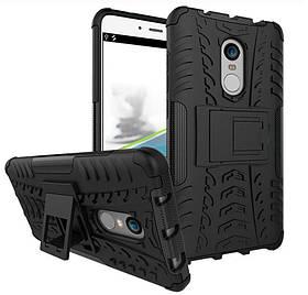 Чехол-накладка TOTO Dazzle Kickstand 2 in 1 Case Xiaomi Redmi Note 4x Black