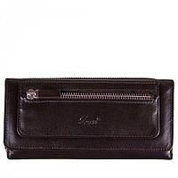 Оригинальный кожаный кошелек на два отделения Grass арт. 147-4