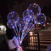 Воздушный светодиодный шар Bobo led