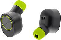 Беспроводные Bluetooth наушникиQitech Coal Buds|наушники вкладыши с функцией Handsfree|наушники Qibuds Gr