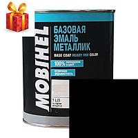 Автокраска Mobihel металлик 600 черная UNI 1л.