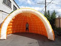 Игло пневмопалатка тент пневмокупол Украинского производителя/ Igloo inflatable tent