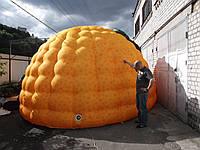 Игло пневмопалатка тент пневмокупол собственное производство/ Igloo inflatable tent