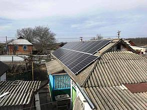 Масив сонячних батарей флігеля.