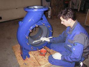 Капитальный ремонт промышленных насосов
