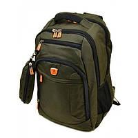 Зеленый городской рюкзак с карманом для ноутбука Power In Eavas арт. 3922