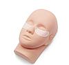 Тренировочная голова для макияжа и наращивания ресниц со штативом, фото 6