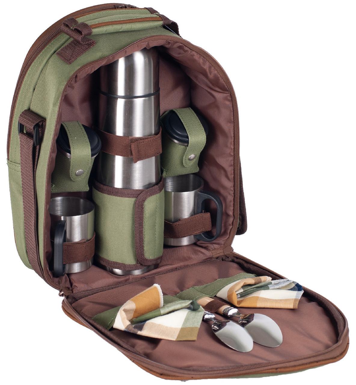 Набор для пикника с термосом на 2 персоны Ranger Compact (Арт. RA 9908)