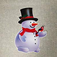 Снеговик. Декорация настенная, фото 1