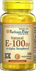 PsP Vitamin E-100 iu 100% Natural - 100 софт