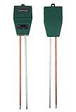 Анализатор почвы PH-метр, влагомер,люксметр для почвы механический 3 в 1, фото 4