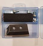Ковані ножі для льодобура iDabur 110 мм (2шт.) в футлярі, фото 2