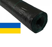 Агроткань 100г/кв.м 3,40м х 25м чёрная, мульчирующая, полипропиленовая (Украина)