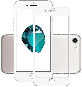 Защитное стекло TOTO 5D Full Cover Tempered Glass iPhone 7/8 White