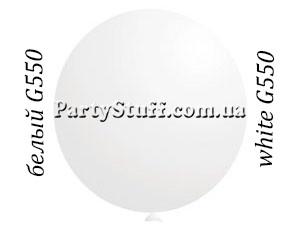 """Воздушный шар гигант Gemar G550 69"""" Белый (175 см)"""