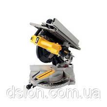 Пила торцовочная универсальная  DeWALT D27113, 1600вт,  диск 305х30мм, 3300 об/мин, угол наклона 48 гр., уг