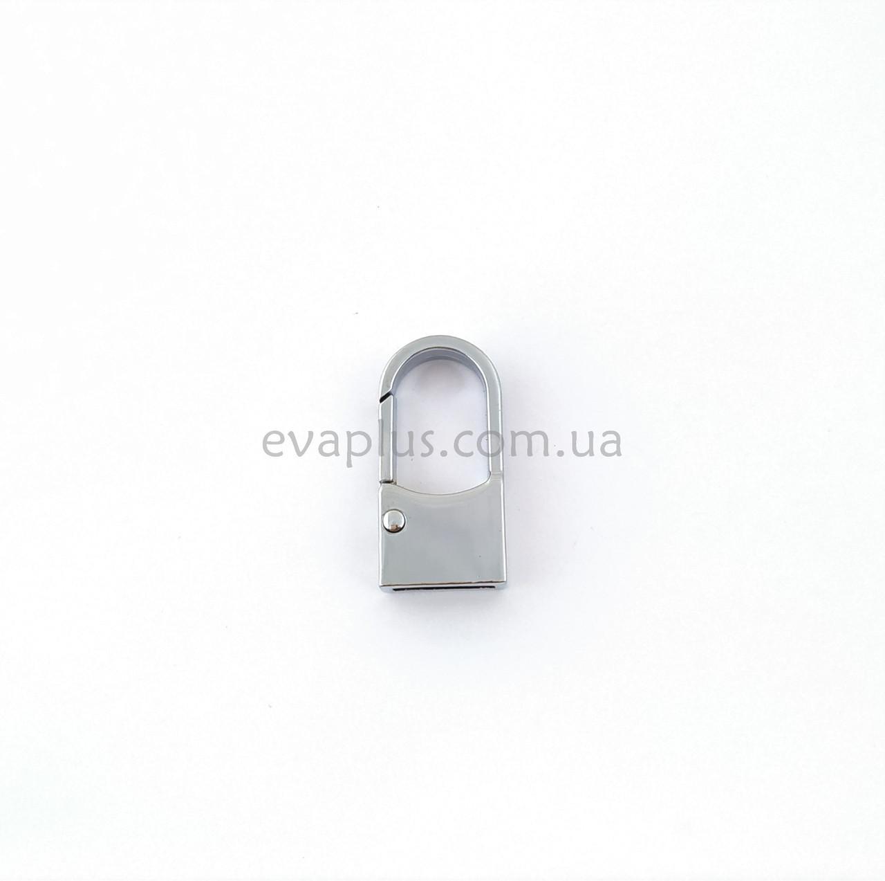 Карабин для сумки 40мм/20мм ЛД-1916 никель
