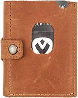 Картхолдер кожаный Valenta Аllant коричневый
