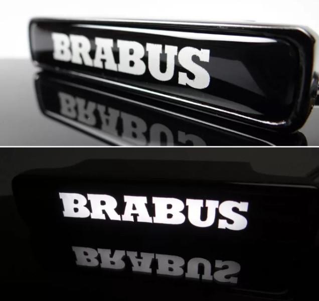 Эмблема Brabus с подсветкой в решетку Mercedes G-class W463a W464