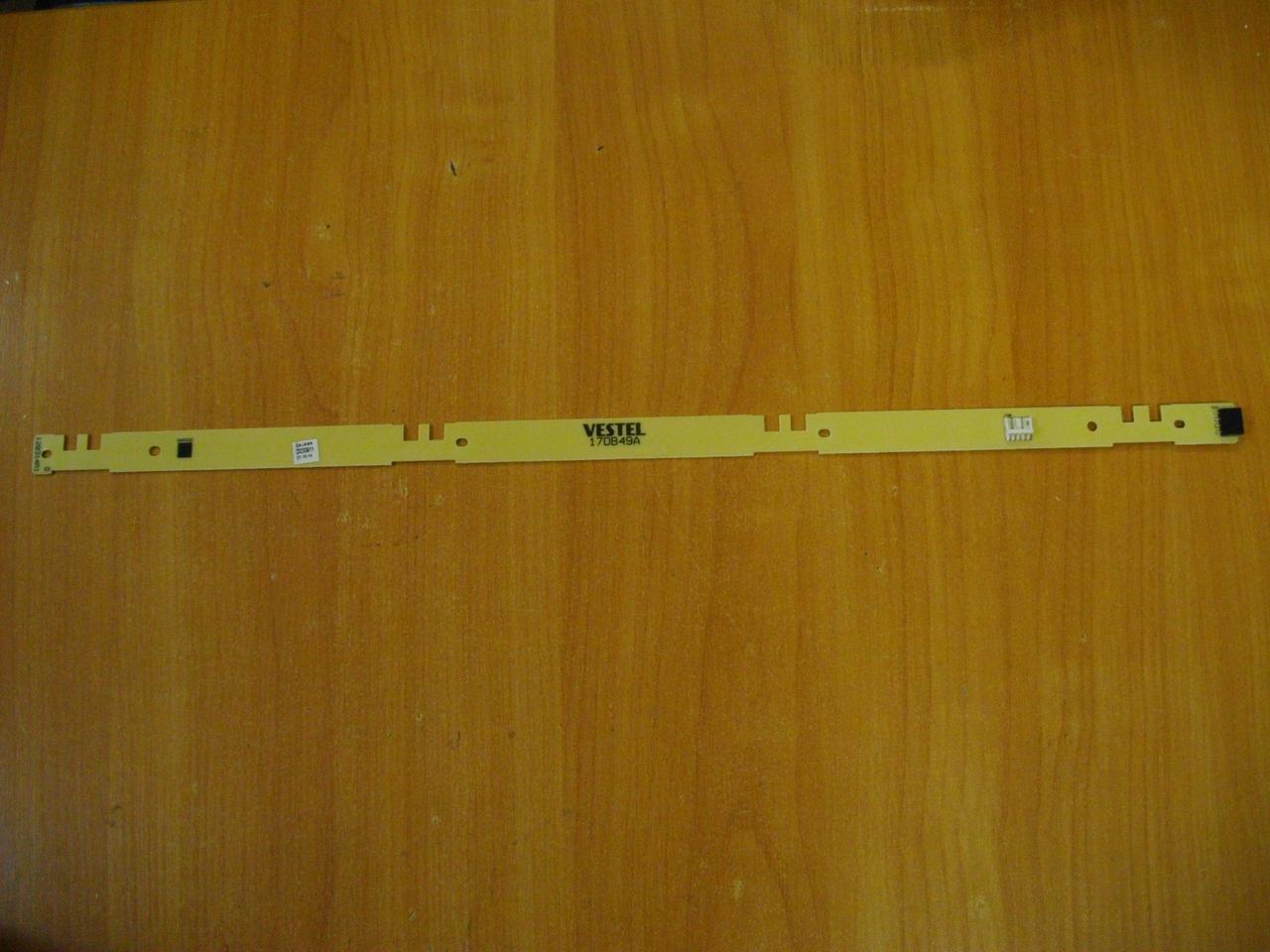 """Плата підключення LED лінійок 17DB49A бо для телевізора 50"""" знята з TV ТВ HONDA HD LED LED503"""
