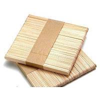Шпатель деревянный одноразовый узкий 100 шт