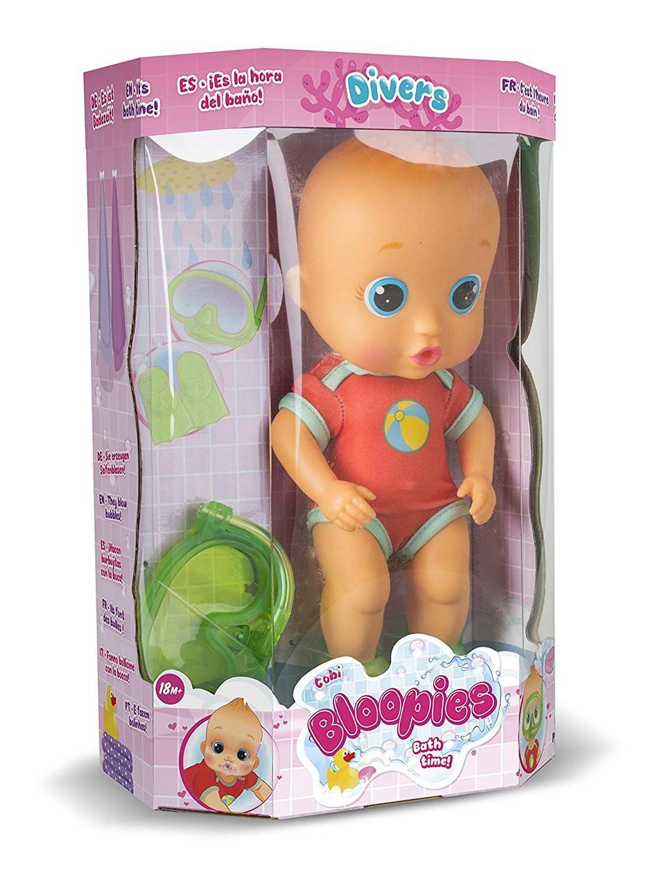 IMC Toys Кукла пупс для купания Bloopies Divers Cobi