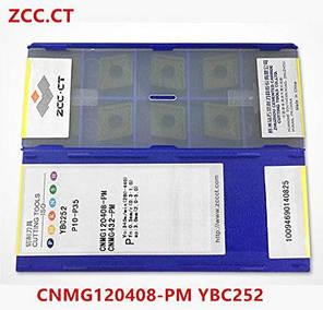 CNMG09T304 YBC252 ZCC Твердосплавная пластина для токарного резца, фото 2