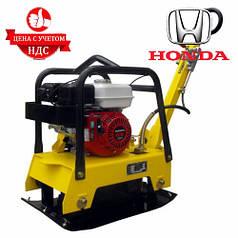Бензиновая виброплита AGT CRBH 130 реверсивная (Honda GX 160, 300 мм, 126 кг)