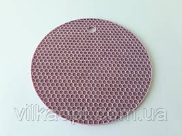 Подставка силиконовая под горячее Круг d 17 cm.