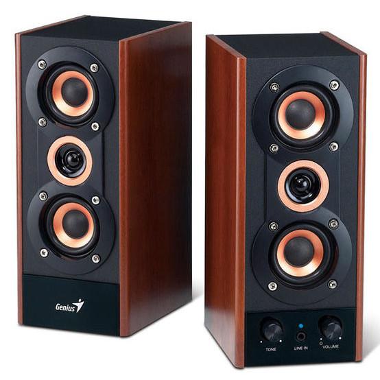 Акустическая система Genius SP-HF800A деревянный корпус (пара)