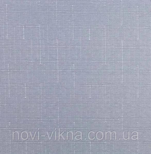 Рулонные жалюзи закрытого типа, Len 7436, серые.