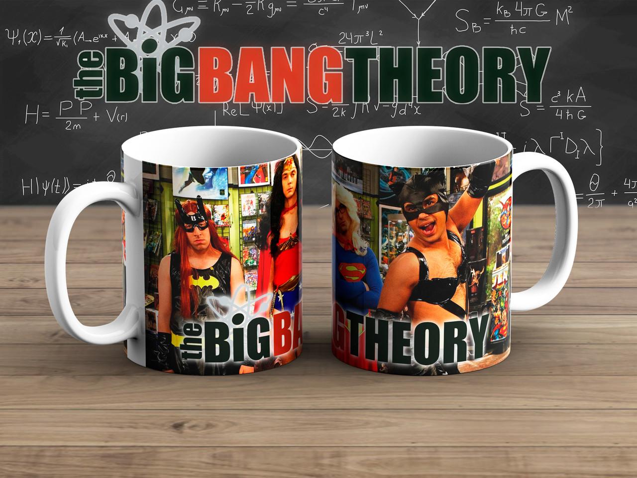 Чашка маскарад Теория Большого взрыва / The Big Bang Theory