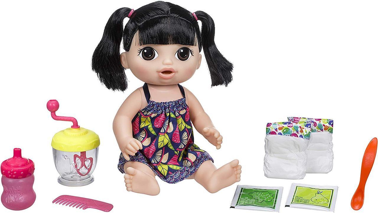 Baby Alive Пупс кукла с блендером азиатка Sweet Spoonfuls Asian Baby Doll Girl