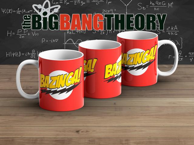 Чашка Теория большого взрыва