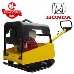 Бензинова виброплита AGT CRBH H400 реверсивная (Honda GX390, 950 мм, 400 кг)