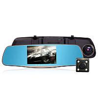 Зеркало-видеорегистратор 3в1 50D5 экран 5 дюймов + Видео парковка