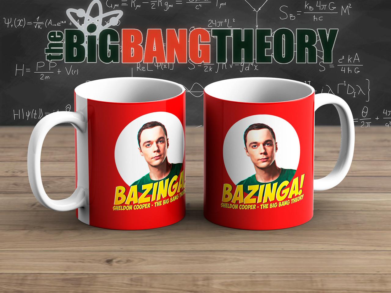 Чашка Шелдон в круге Теория Большого взрыва / The Big Bang Theory