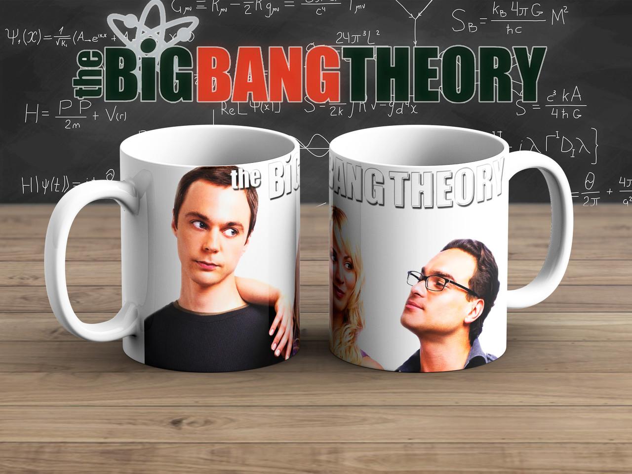 Чашка треугольник Теория Большого взрыва / The Big Bang Theory