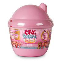IMC Toys Cry Babies Куколка пупс-сюрприз плачущий малыш в домике Magic Tears Bottle House, фото 1