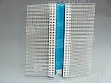 Профіль ПВХ декоративний (рустовочный) з сіткою Н-3/2см, 3м, фото 6