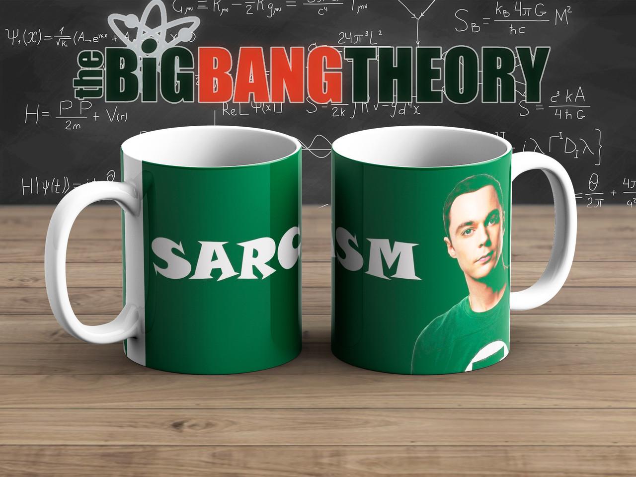 Чашка Сарказм Теория Большого взрыва / The Big Bang Theory